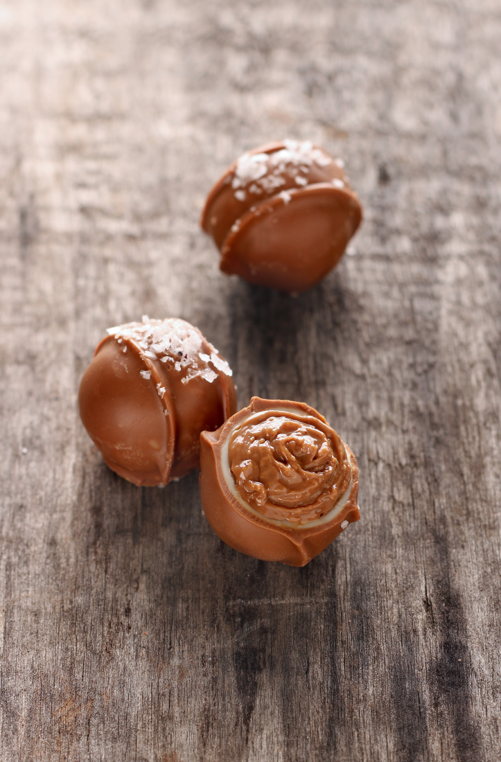 Caramel / sea salt truffle