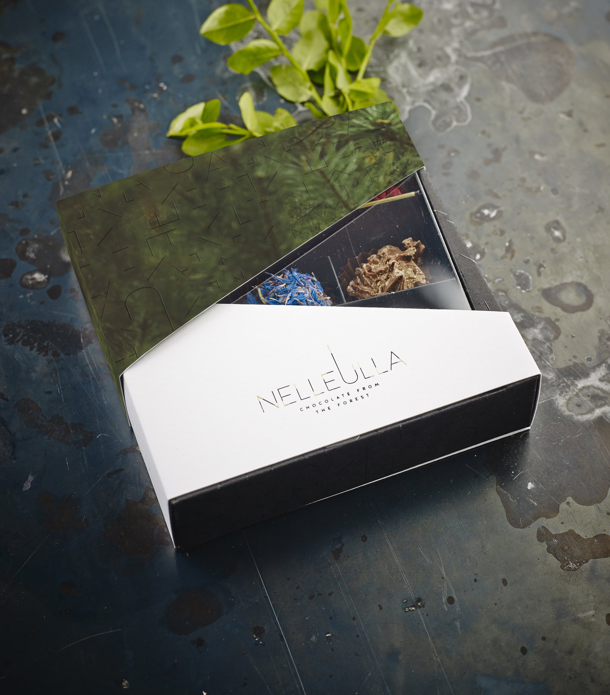 Any 9 or 16 truffle selection in NelleUlla Wild box