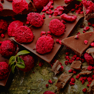 Berry love / Milk Chocolate / Raspberry