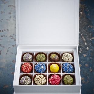 Any chocolate truffles selection in exclusive gift box